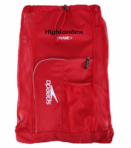 Highlander Mesh Red - Speedo Deluxe Ventilator Mesh Bag