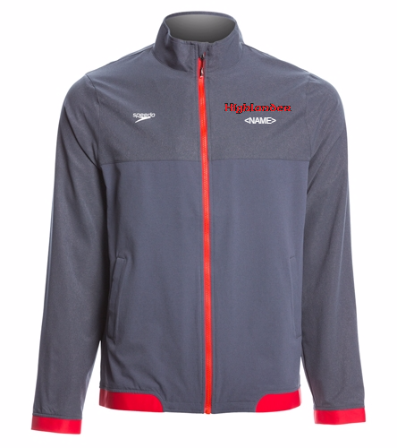 Highlander  - Speedo Men's Tech Warm Up Jacket