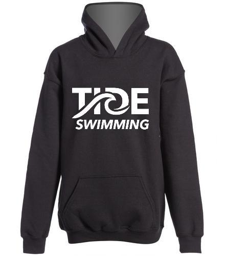 TIDE Youth Sweatshirt - SwimOutlet Youth Heavy Blend Hooded Sweatshirt