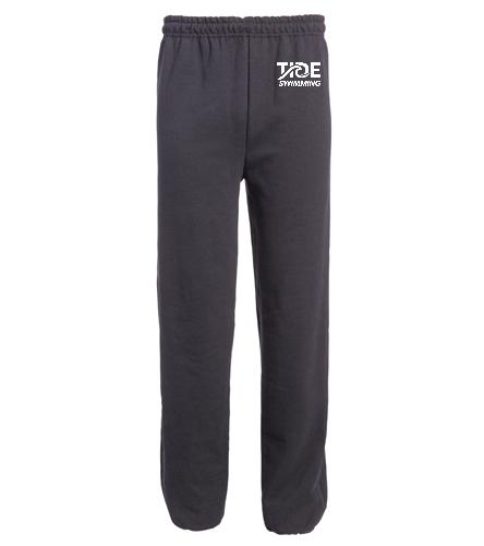TIDE Sweatpants - SwimOutlet Heavy Blend Unisex Adult Open Bottom Sweatpants