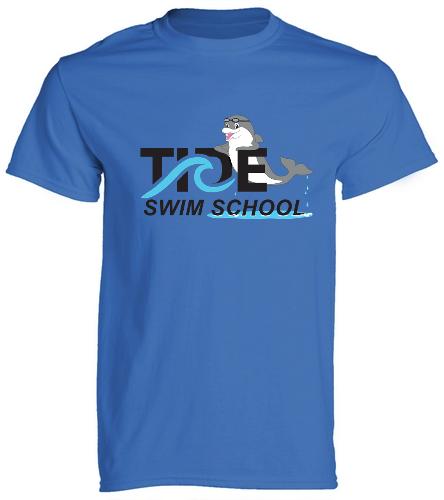 Tide Swim School Tee - SwimOutlet Cotton Unisex Short Sleeve T-Shirt