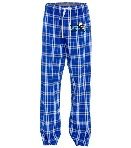 Tide adult plaid pants - SwimOutlet Unisex Flannel Plaid Pant