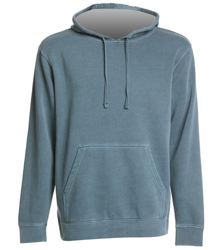 Swim School Sweatshirt - SwimOutlet Unisex Midweight Pigment Dyed Hooded Sweatshirt
