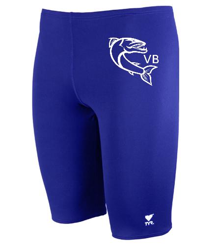 TYRJAMLOGO2 - TYR Durafast Solid Jammer Swimsuit