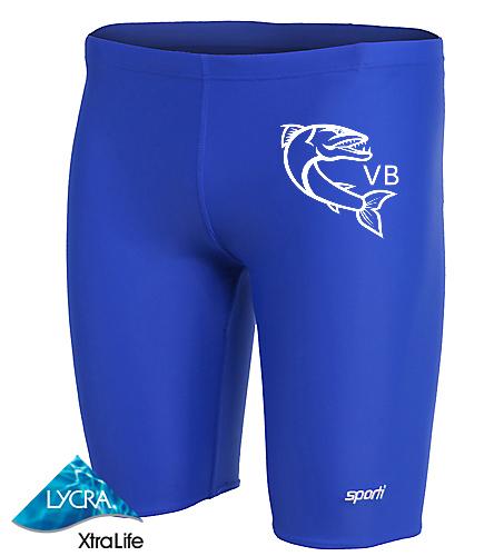 sportijam1 - Sporti Solid Compression Jammer Swimsuit