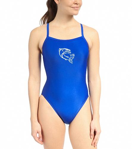 waterprologo - Waterpro Poly Female Training One Piece Swimsuit