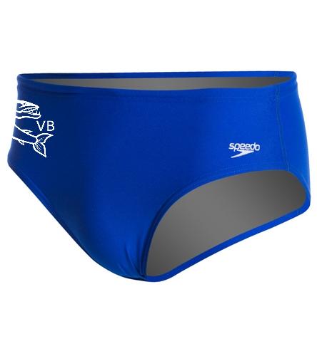 brieflogo  - Speedo Solid Endurance Brief Swimsuit