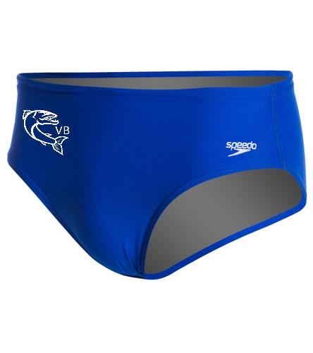 brief logo - Speedo Solid Endurance Brief Swimsuit
