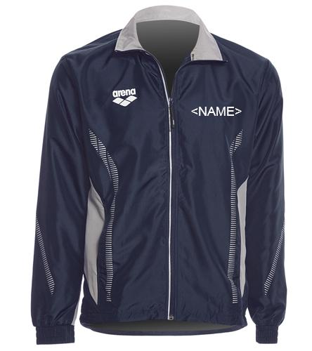 Team Jacket - Arena Unisex Team Line Ripstop Warm Up Jacket