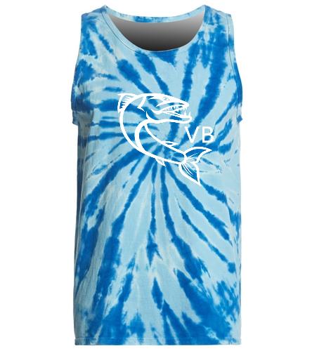 tyedyetank - SwimOutlet Tie-Dye Tank Top