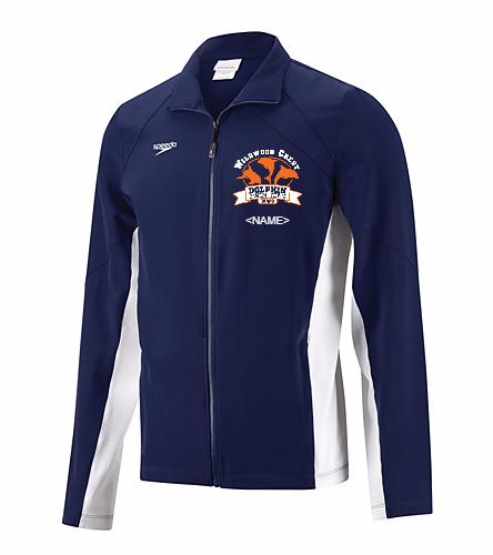 WWC Mens Warm Up Jacket - Speedo Men's Boom Force Warm Up Jacket