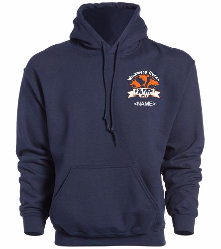 WWC Adult Sweatshirt Small Logo -  Heavy Blend Adult Hooded Sweatshirt