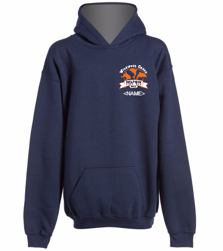 WWC Youth Hooded Sweatshirt Small Logo -  Heavy Blend Youth Hooded Sweatshirt