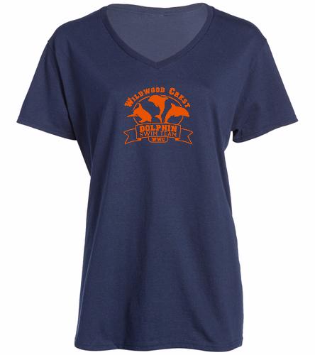 Ladies Team Shirt -  Ladies V-Neck