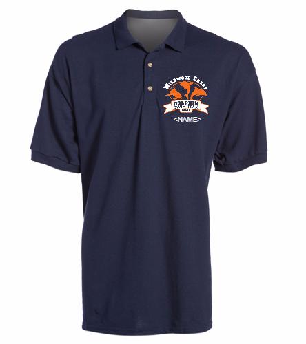 WWC Mens Polo Shirt -  Ultra Cotton Adult Pique Sport Shirt