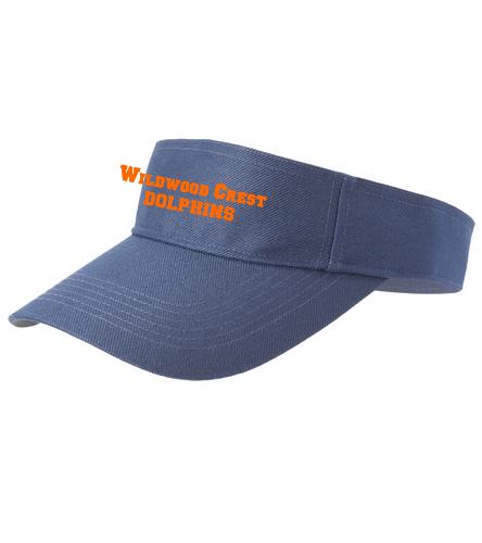 WWC Dolphins  - SwimOutlet Custom Cotton Twill Visor