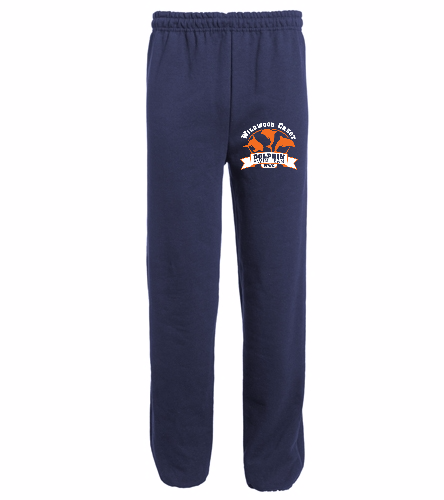 WWC Adult Open Bottom Sweatpants - Heavy Blend Adult Open Bottom Sweatpants