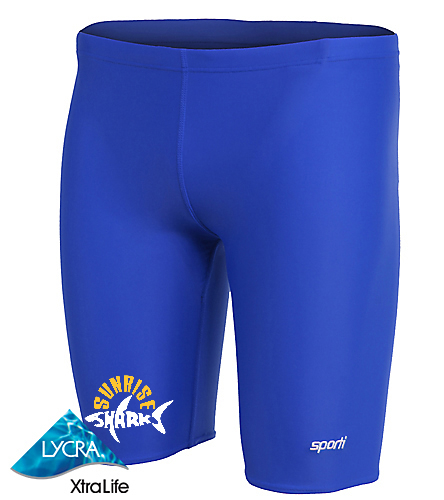 Sporti Jammer New  - Sporti Solid Compression Jammer Swimsuit
