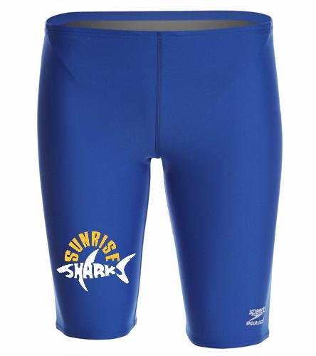 Men Jammer New - Speedo Men's Solid Endurance+ Jammer Swimsuit