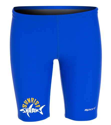 Sporti Youth Jammer New - Sporti Solid Compression Jammer Swimsuit Youth (22-28)