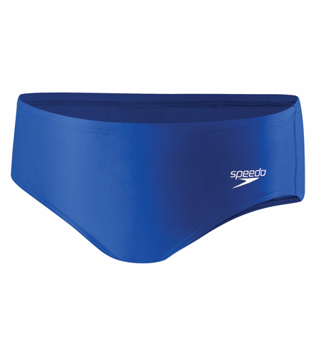 Youth Brief New - Speedo PowerFLEX Eco Solid Youth Brief Swimsuit