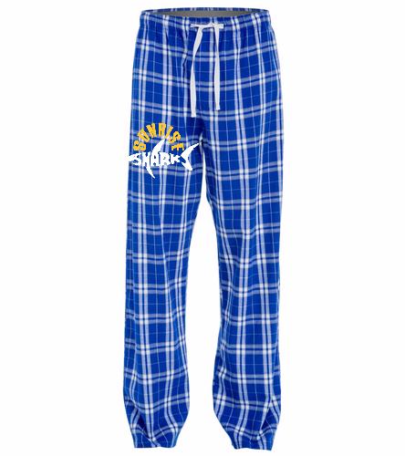 Flannel Pants New - SwimOutlet Unisex Flannel Plaid Pant