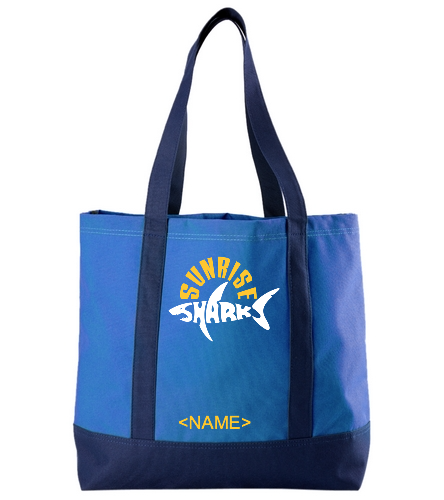Sharks Tote - SwimOutlet Day Tote
