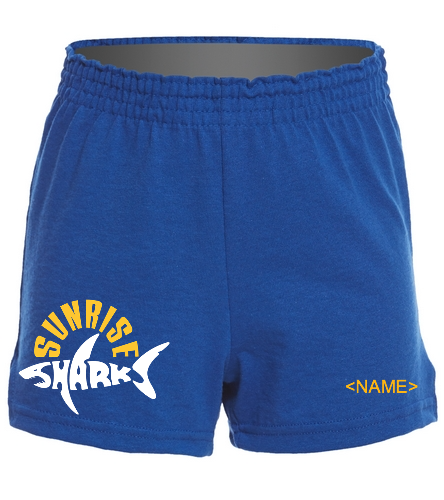kids shorts - SwimOutlet Custom Girls' Fitted Jersey Short
