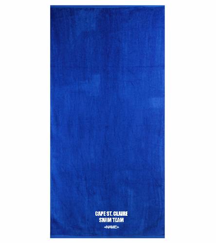 Cape Royal - Royal Comfort Terry Velour Beach Towel 32 X 64
