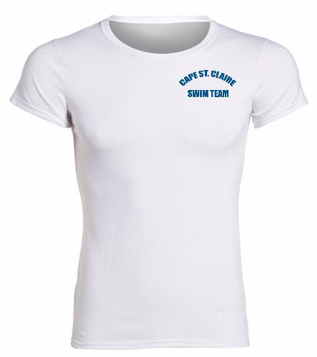 Cape White -  Heavy Cotton Missy Fit T-Shirt