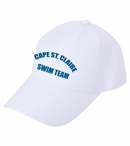 Cape White - SwimOutlet Custom Cotton Twill Cap