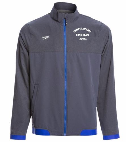 Cape - Speedo Men's Tech Warm Up Jacket