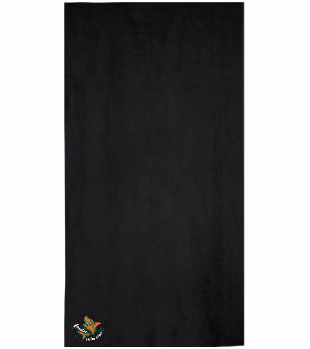 LSC Towel - Royal Comfort Terry Velour Beach Towel 32 X 64