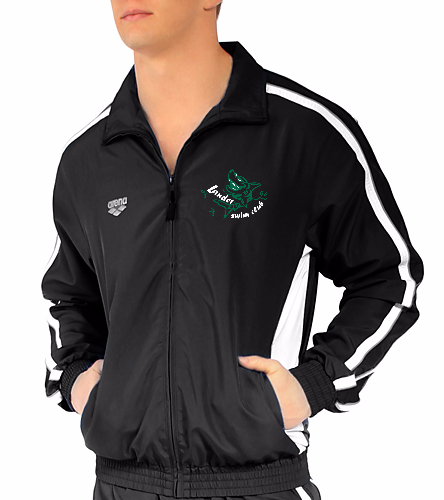 LSC Arena Warm Up green white logo - Arena Prival Warm Up Jacket