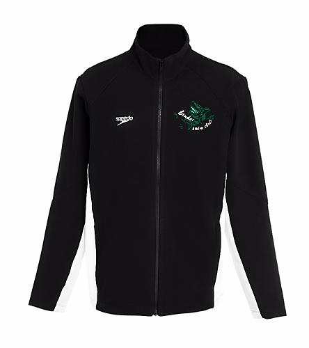 LSC Youth Speedo Warm Up green white logo - Speedo Youth Boom Force Warm Up Jacket