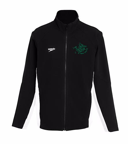 LSC Youth Speedo Warm Up green logo - Speedo Youth Boom Force Warm Up Jacket