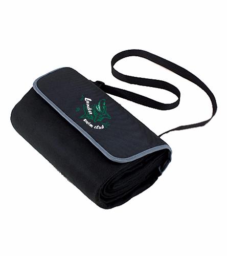 LSC Blanket green logo - Picnic Time Blanket Tote