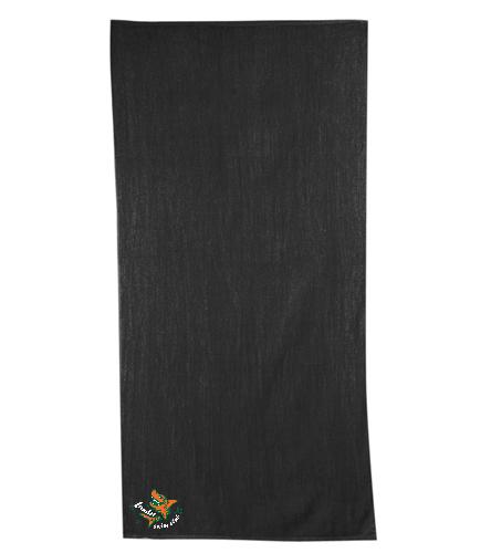 LSC Towel - Diplomat Terry Velour Beach Towel 30 x 60