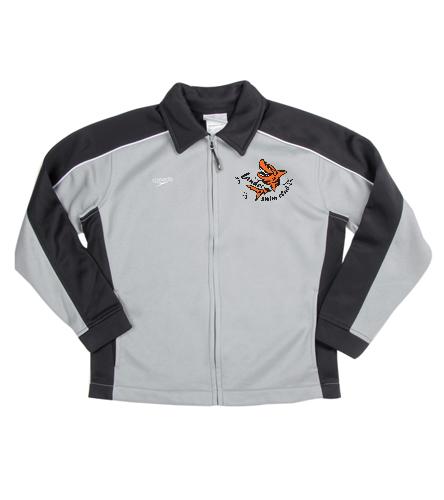 LSC Youth black/grey Warm Up  - Speedo Streamline Youth Warm Up Jacket