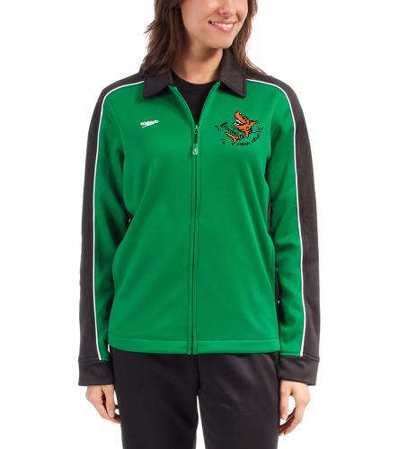 LSC Speedo Female Warm Up Jacket - Speedo Streamline Female Warm Up Jacket