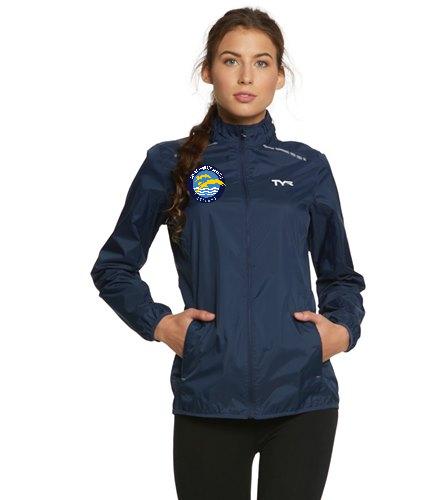 Thunder  - TYR Women's Alliance Windbreaker Jacket