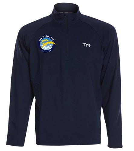 Thunder  - TYR Men's Alliance 1/4 Zip Pullover Jacket