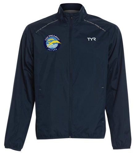 Thunder  - TYR Men's Alliance Windbreaker Jacket