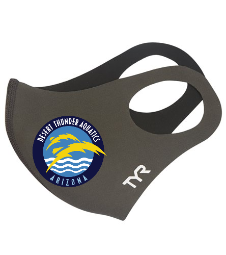 Thunder  - TYR Small Logo Face Mask