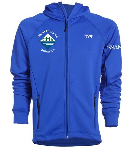 New CMA TYR Male Warm Up Jacket - TYR Alliance Victory Male Warm Up Jacket