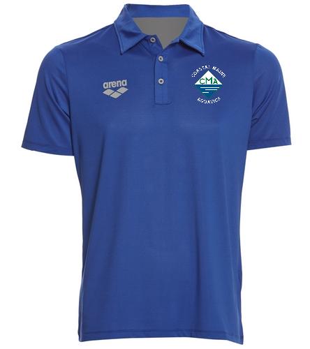 Coaches Arena Shirt - Arena Unisex Team Line Tech Short Sleeve Polo