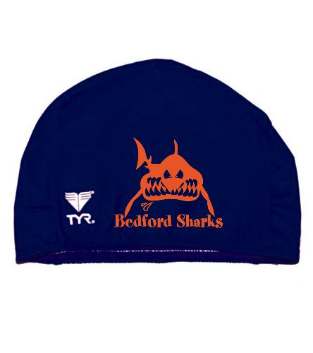 Sharks Cap - TYR Lycra Swim Cap