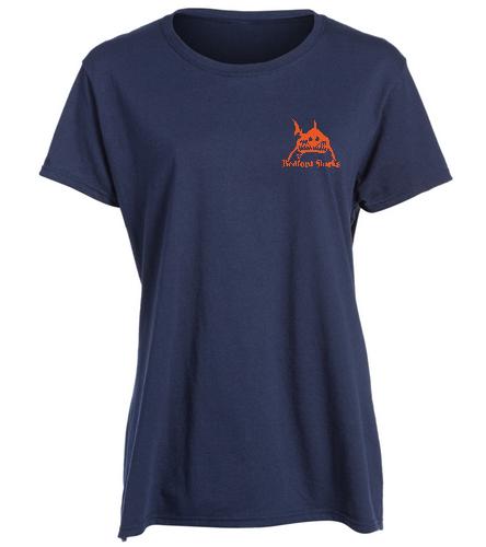 women's shirt - SwimOutlet Women's Cotton Missy Fit T-Shirt