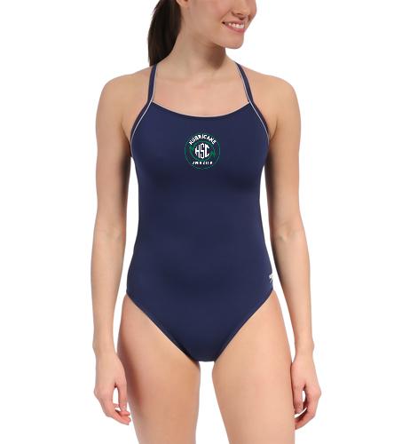 HSC Speedo Thin Strap - Speedo Solid Endurance + Thin Strap Swimsuit