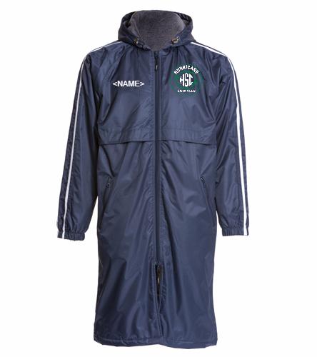 HSC Parka  - Sporti Striped Comfort Fleece-Lined Swim Parka